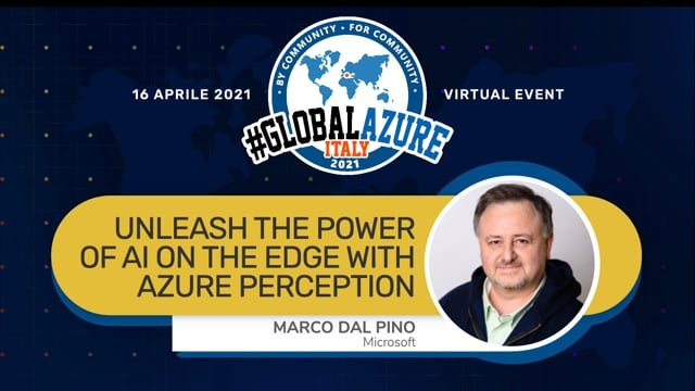 Unleash the power of AI on the EDGE with Azure Percept