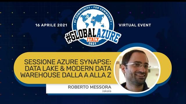 Azure Synapse: data lake & modern data warehouse dalla A alla Z
