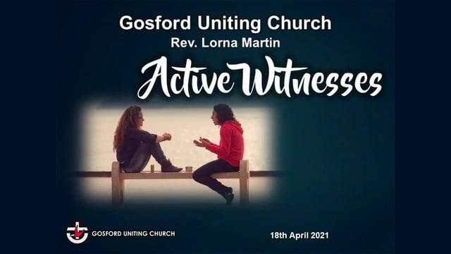 18th April 2021 - Rev Lorna Martin