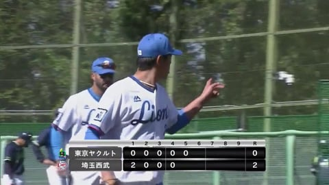 【ファーム】ライオンズ・内海 5回を被安打1、無失点の好投!! 2021/4/18 L-S(ファーム)