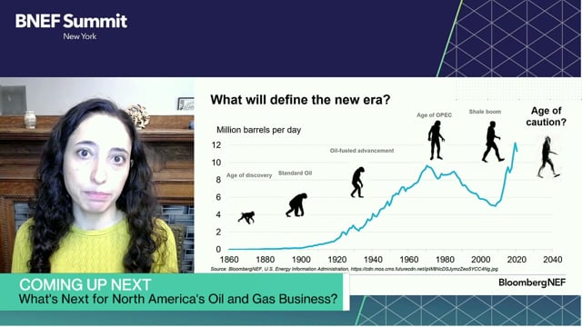 """Watch """"<h3>BNEF Talk: A New Era for US Oil by Anastacia Dialynas, Head of US Oil, BloombergNEF</h3>"""""""