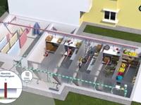 LIMODOR AirBase – pivnica bytový dom