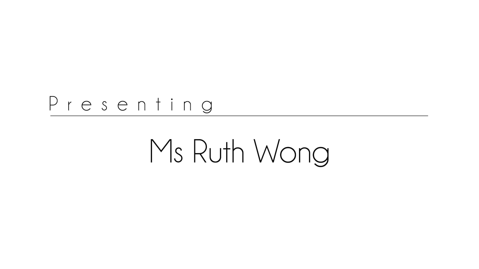 Greentree Montessori's 30th Anniversary Celebrations Special Guest Speaker: Ms Ruth Wong