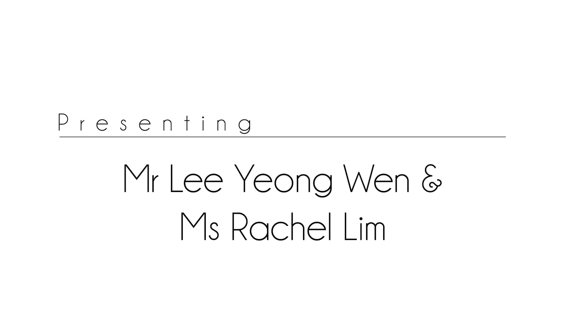 Greentree Montessori's 30th Anniversary Celebrations Special Guest Speaker: Mr Lee Yeong Wen and Ms Rachel Lim