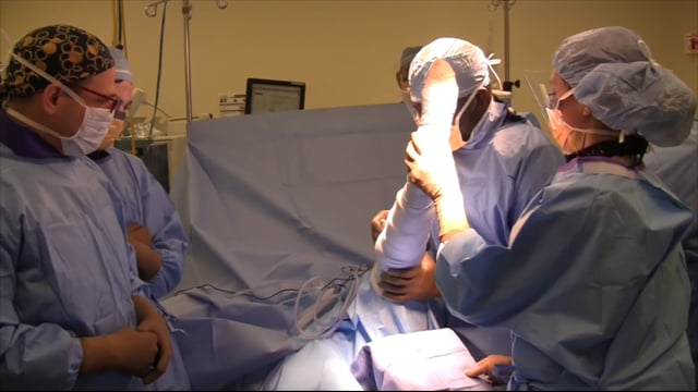 Suture Repair of Pole Patella Fracture