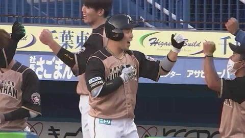 【1回表】ファイターズ・近藤の2試合連続となる第2号2ランホームランで先制!! 2021/4/20 M-F