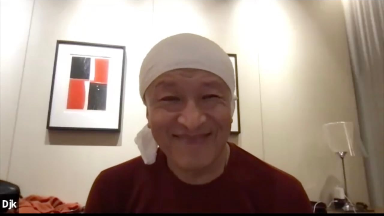 仁波切對話佛學博士研究生