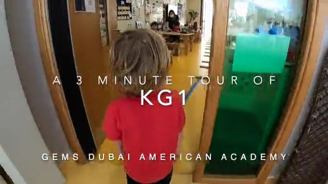 Take a 3 minute tour of our KG1 classrooms! Exploration and inquiry in our play-based learning environment set the foundation for success.