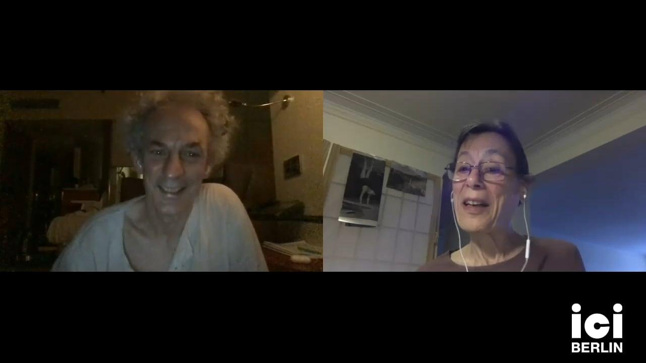 Talk by Yvonne Rainer & Xavier Le Roy