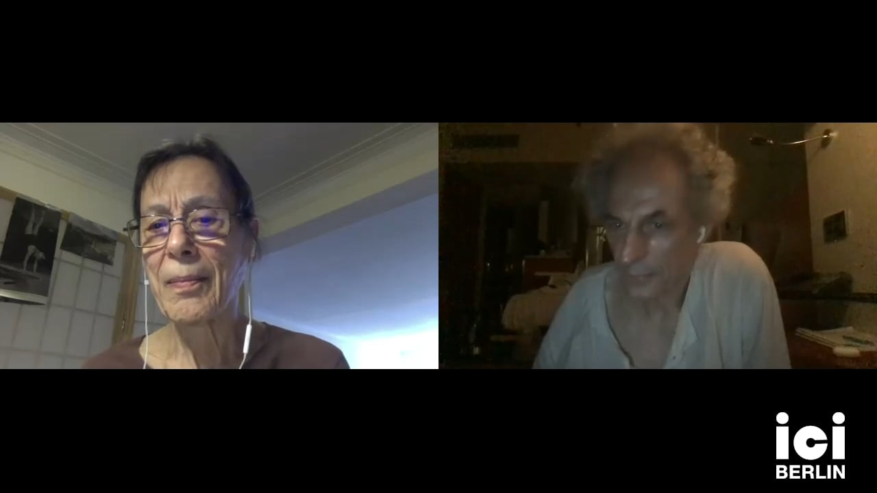 Discussion with Yvonne Rainer & Xavier Le Roy