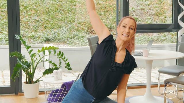 Yoga für Vielsitzer #01 Körpervorderseite