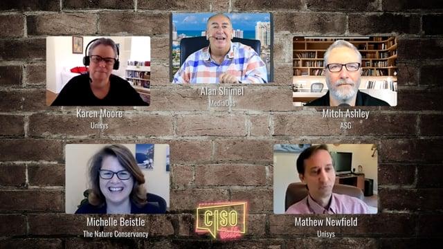 CISO Talk - Ep 13 - TechStrong TV