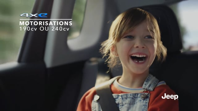 Voix Off • Voice Talent David Joppart - Jeep Compass Hybride TVC