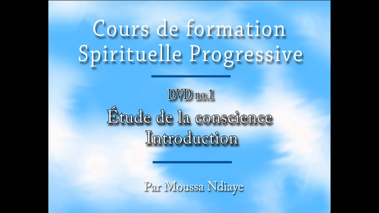 Sagesse Divine progressive - séminaire 1
