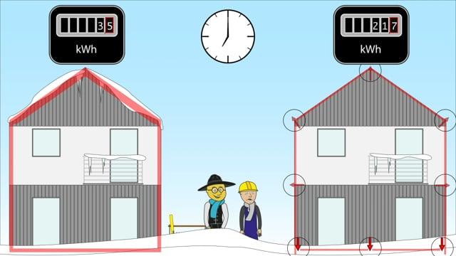 Bauen mit Nachdenken - ein Haus zwei Bauweisen