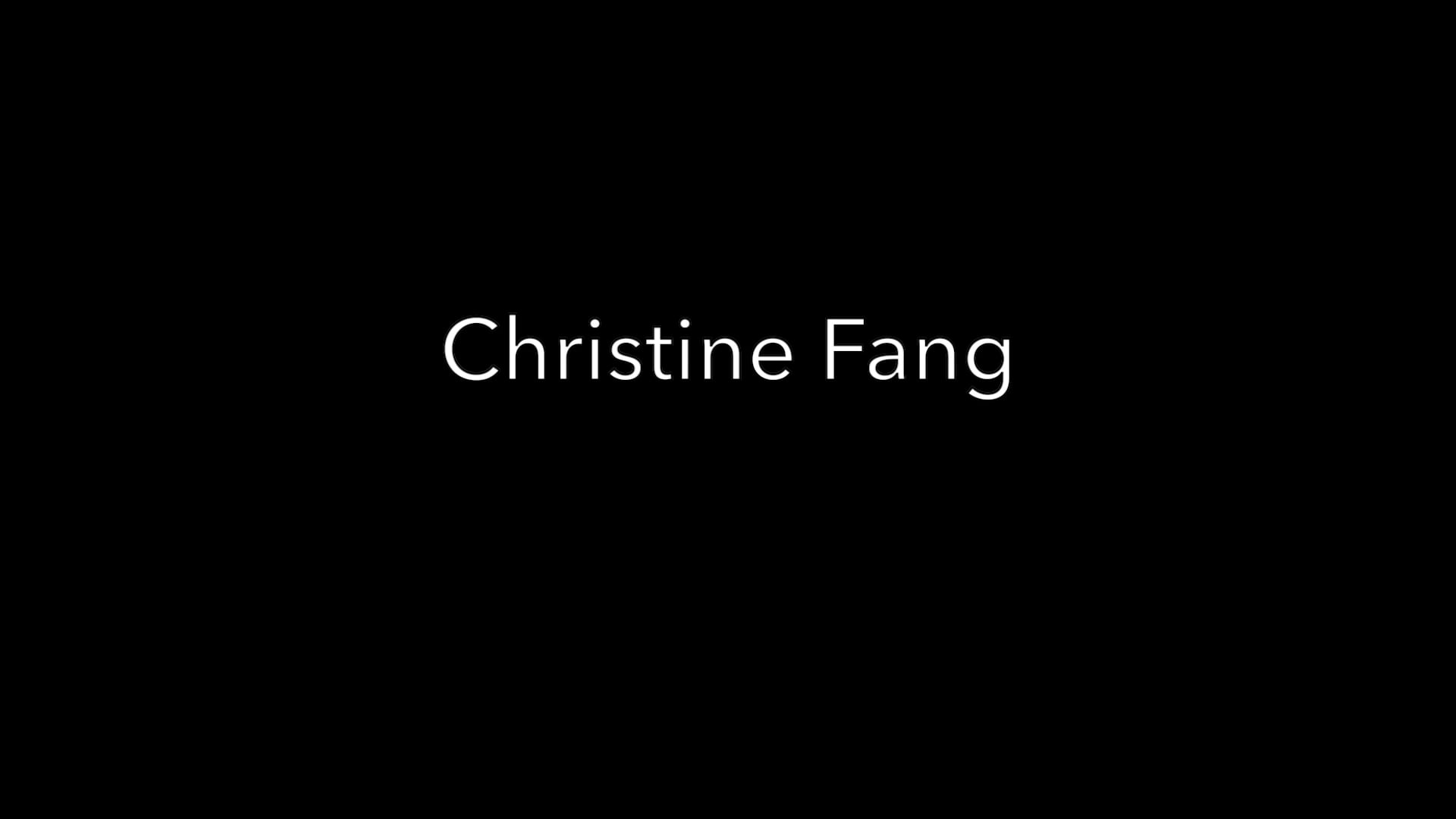 Christine Fang Acting Reel