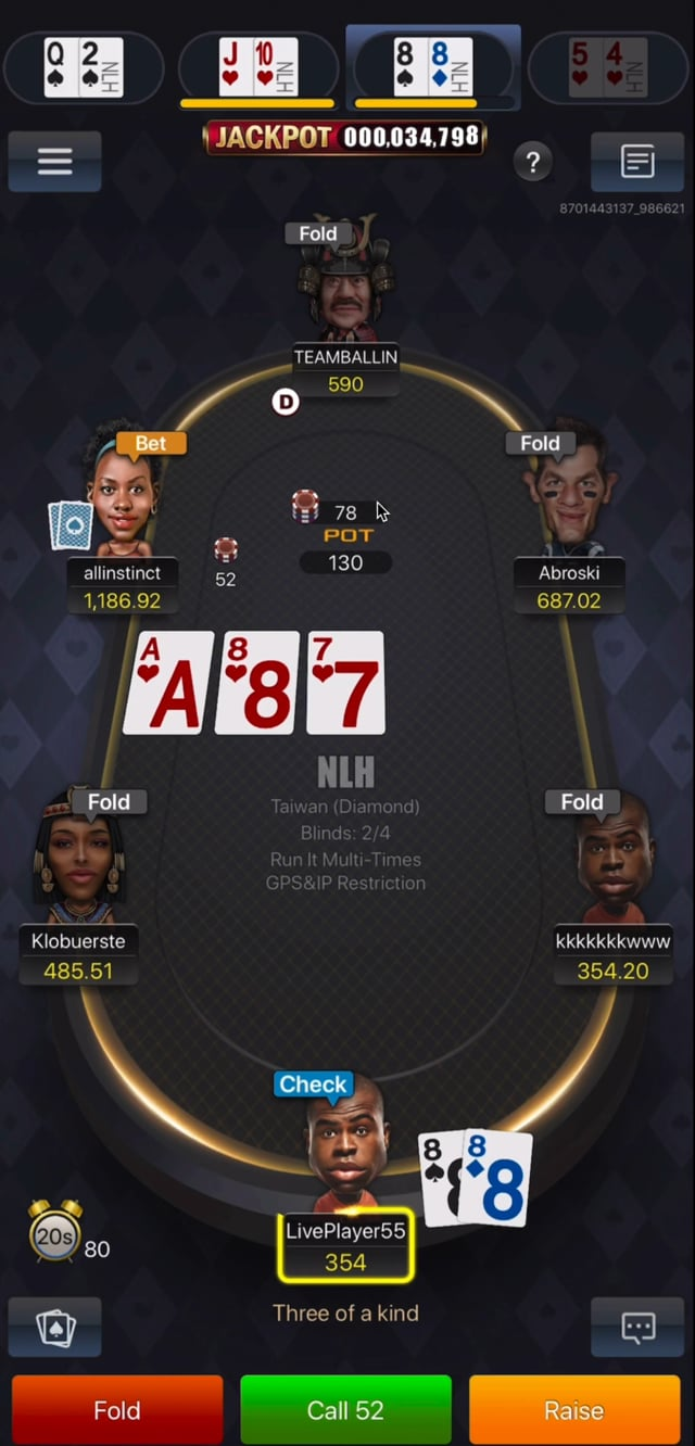 #441: Mid Stakes Online 4 tables