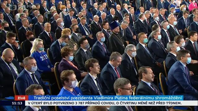 Poselství prezidenta RF V. V. Putina Federálnímu shromáždění 2021
