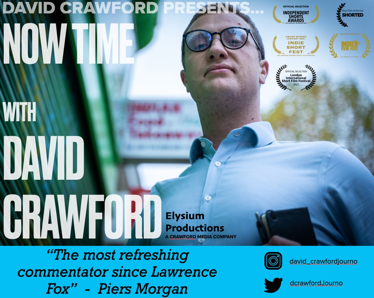 Now Time With David Crawford | Short Film of the Day