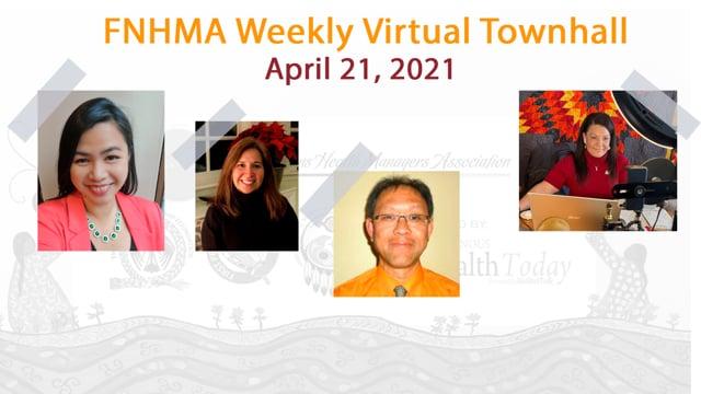 FNHMA Town Hall (FR) April 21, 2021