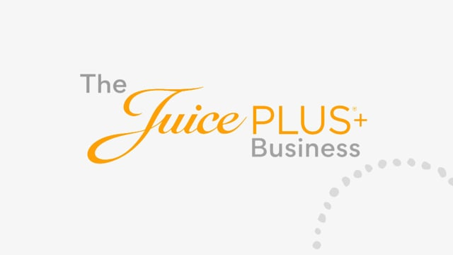 Juice Plus+ Business Opportunity