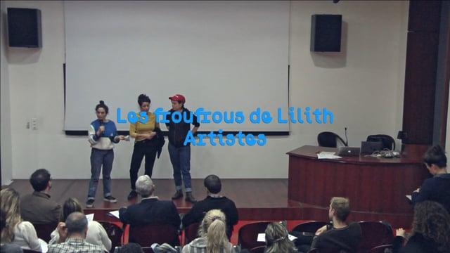 Les froufrous de Lilith, performance « Food&Film #36 Sacré »