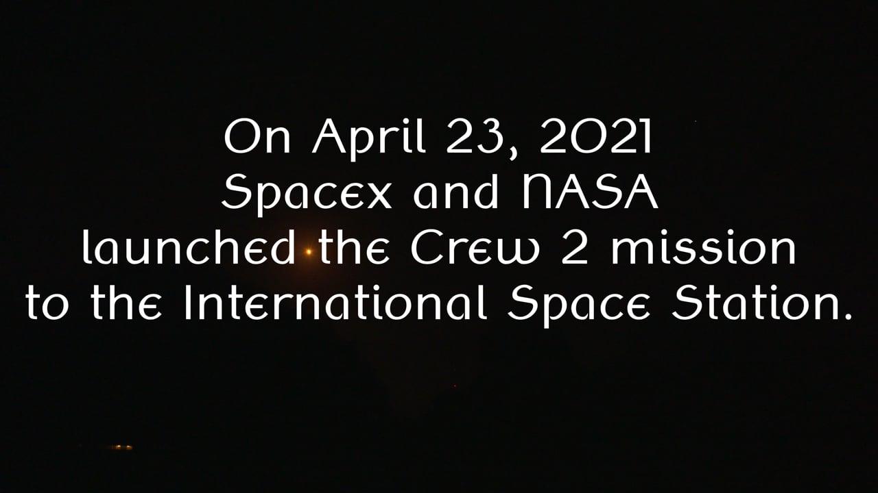 Crew 2 Launch 23 Apr 2021
