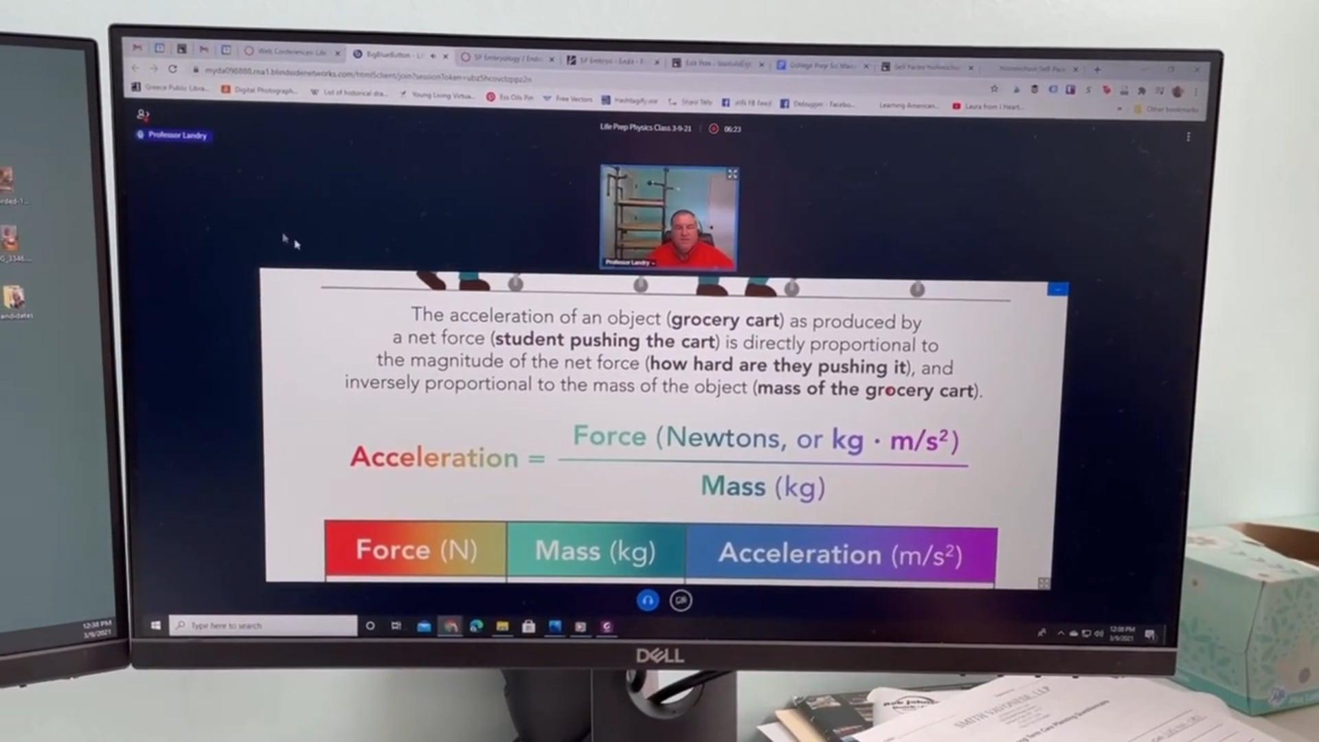Greg Landry Homeschool Science - Physics Class Video Review