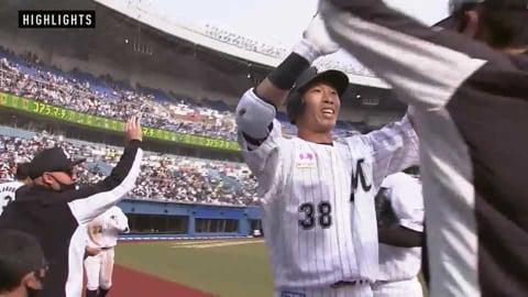 4/24 マリーンズ対ホークス ダイジェスト