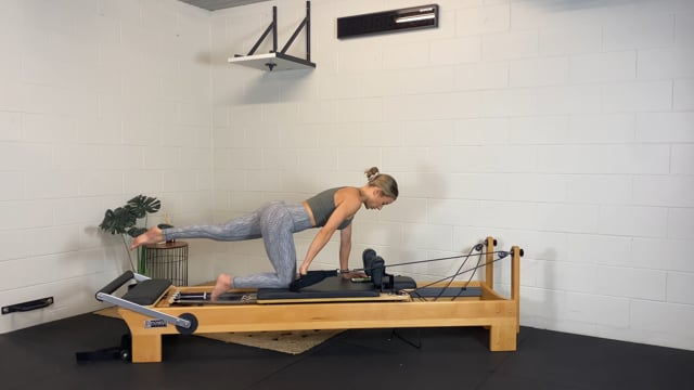 30min glutes, abs, and triceps on the reformer