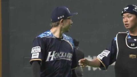【5回表】ファイターズ・金子 古巣相手に5回1失点のナイスピッチング!! 2021/4/25 F-B
