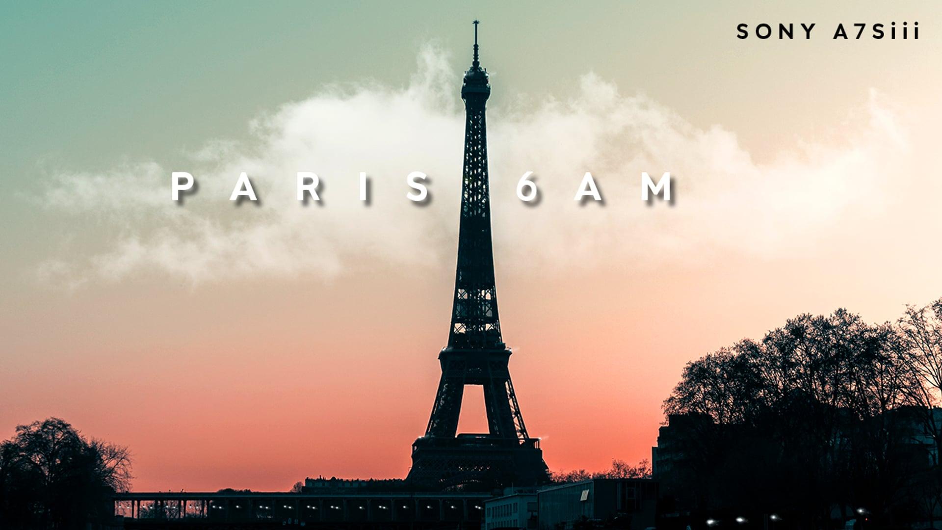 Paris 6am - A7siii
