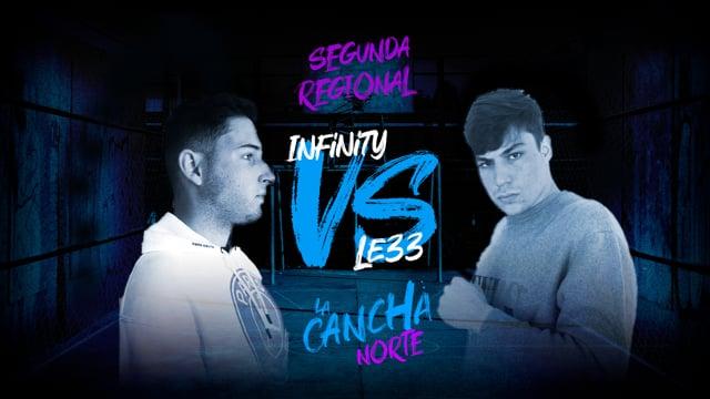 La Cancha Norte | Infinity vs Le33 | Semifinal