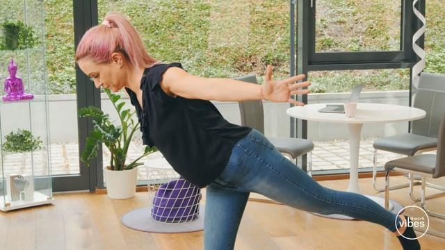 Yoga für Vielsitzer #08 Bauch- & Rückenkräftigung