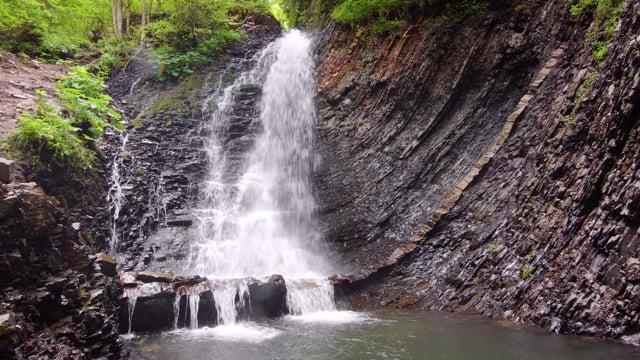4K Gems of Zakarpattia, Ukraine - Divochi Sliozy and Zhenetskyi Huk Waterfalls - Short Preview Video
