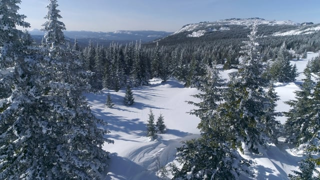 4K Winter Charm of Iremel Mountain, Southern Urals - Short Preview Video with Relaxing Music