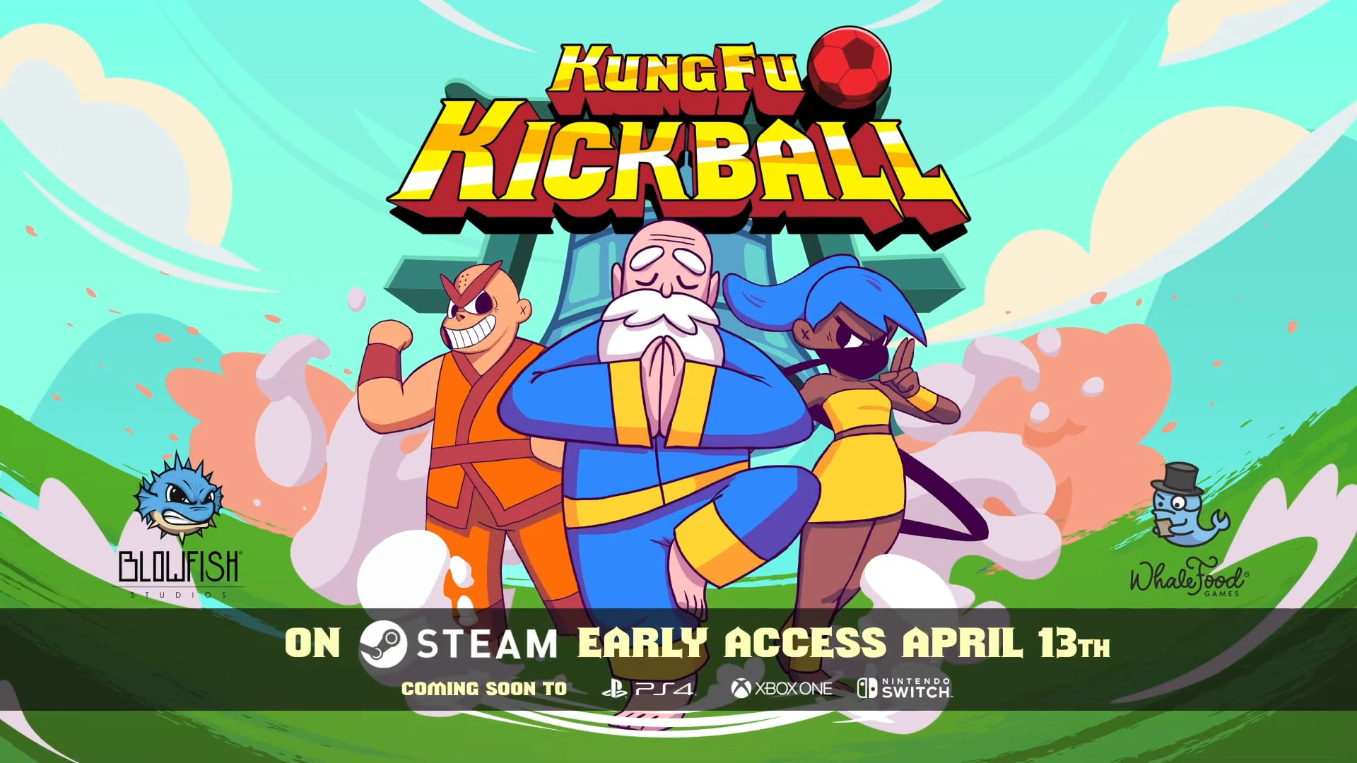 KungFu Kickball | WhaleFood Games