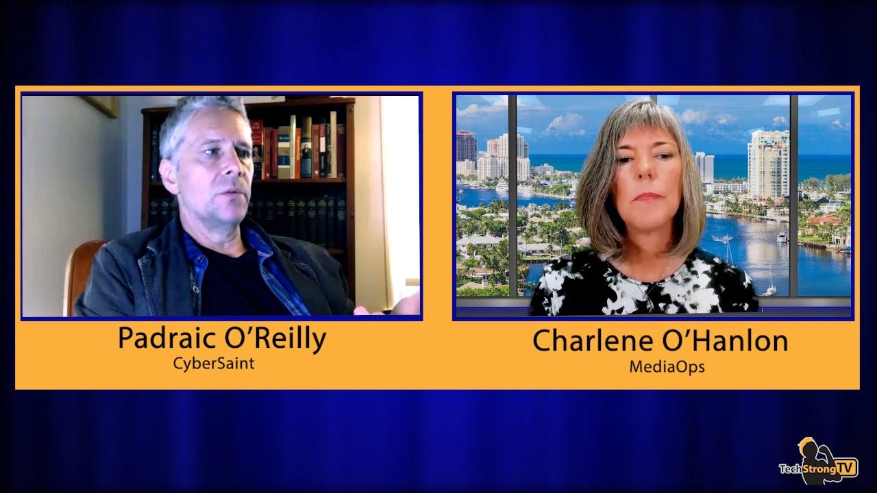 Padraic O'Reilly-TechStrong TV