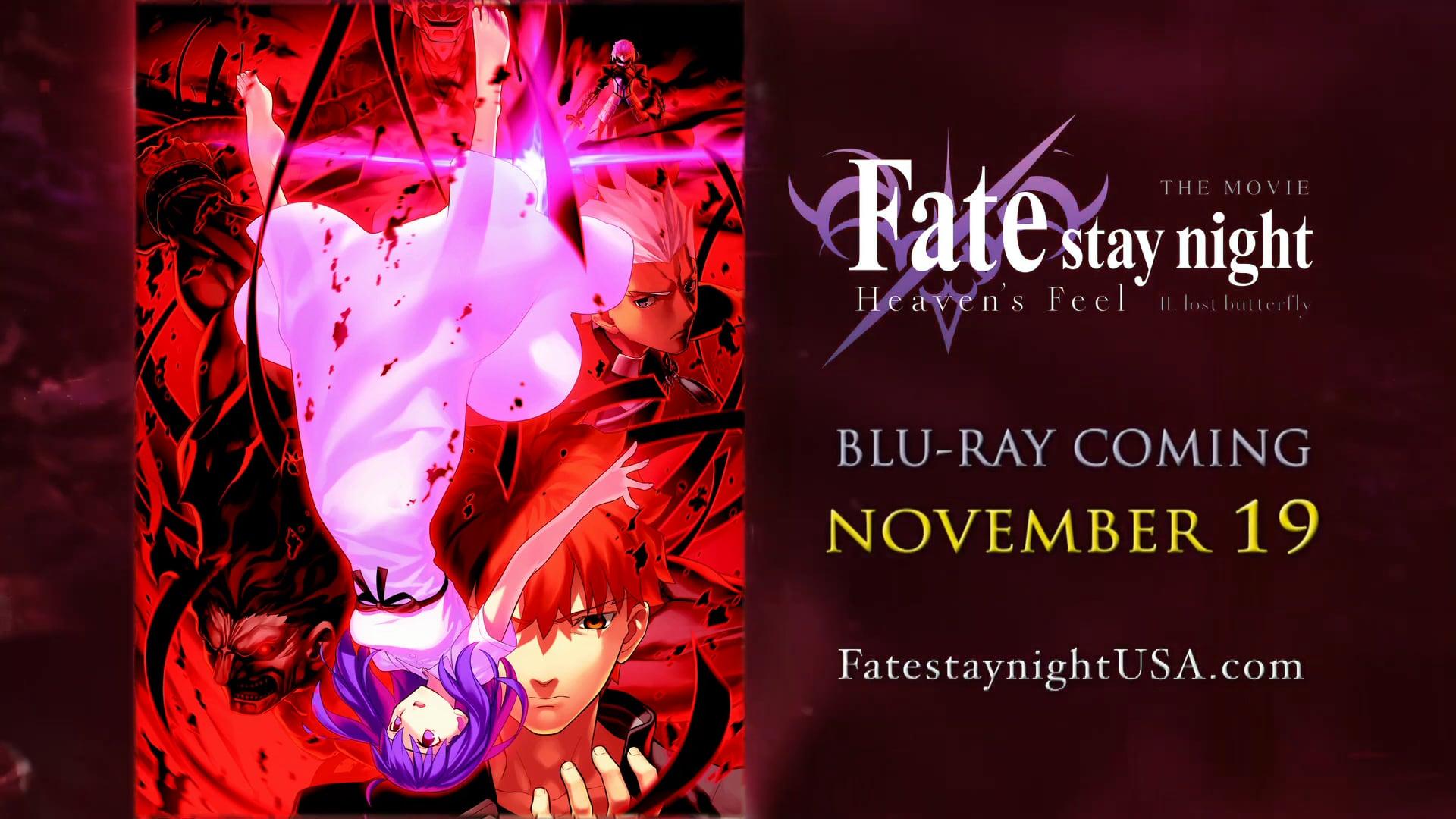 Fate Stay Night Heavens Feel II Lost Butterfly | Fathom
