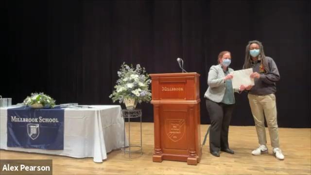 Millbrook School Underform Awards Ceremony 2021