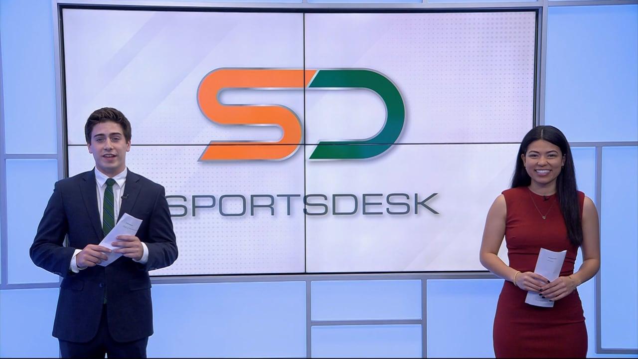 SportsDesk @ 7pm   April 23, 2021   UMTV Live