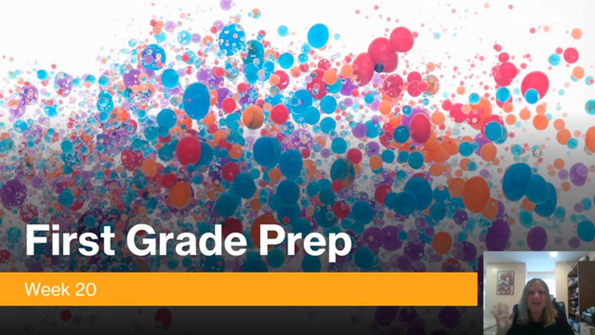 1 - PREP - Wk 20
