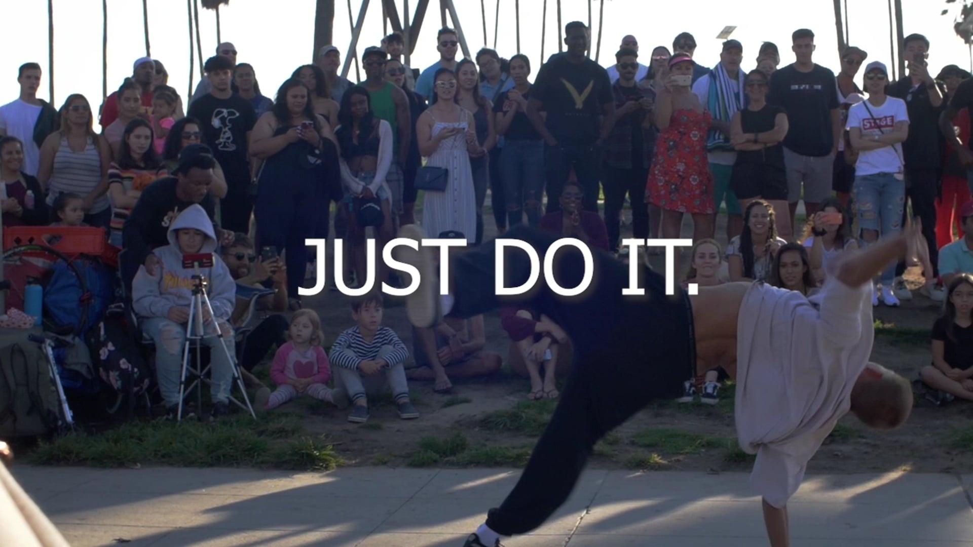 Mock Nike Commercial JK