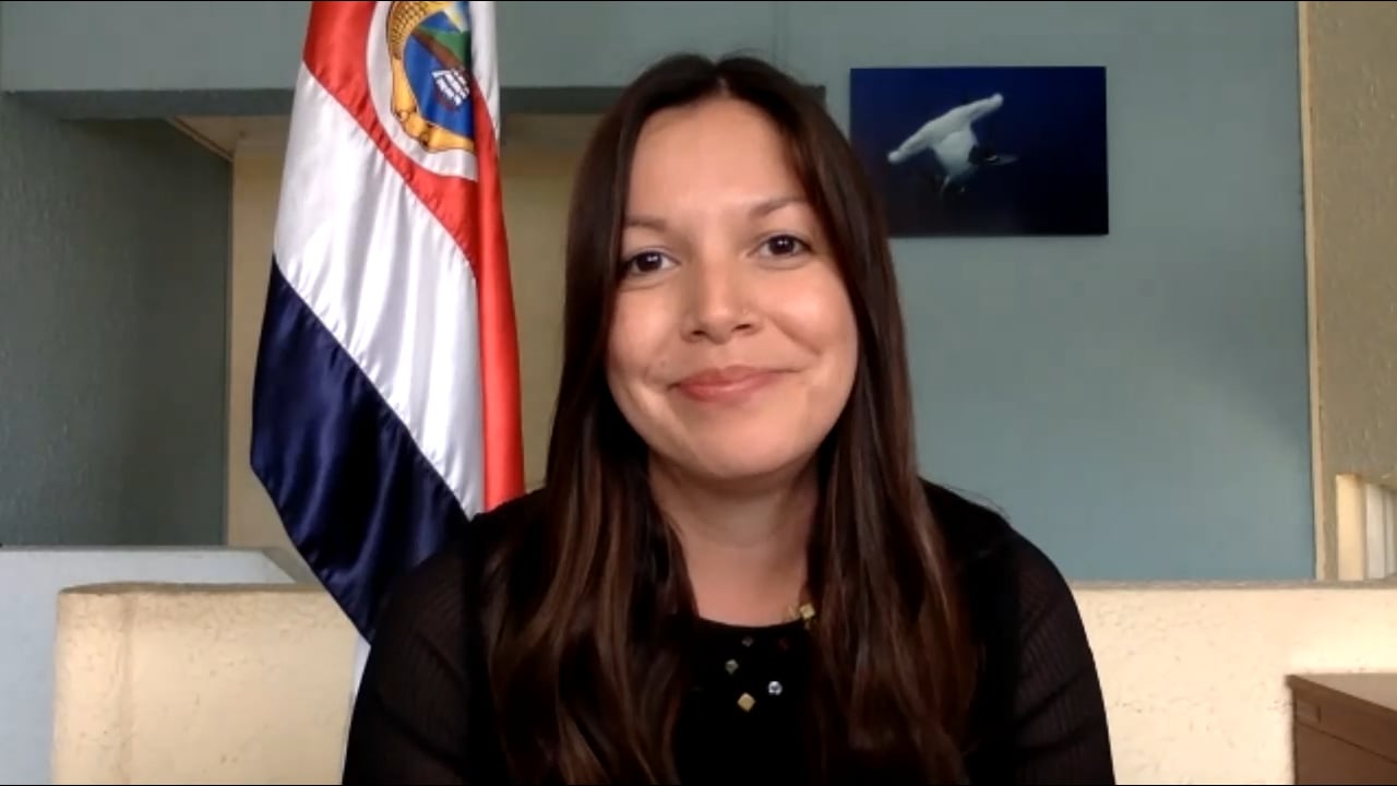Blue Solutions - Interview with Vice Minister of Oceans and Water of Costa Rica, Haydée Rodríguez
