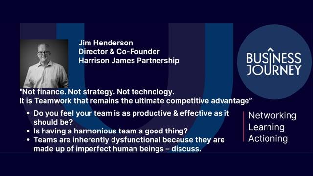 Jim Henderson Business Journey Interview