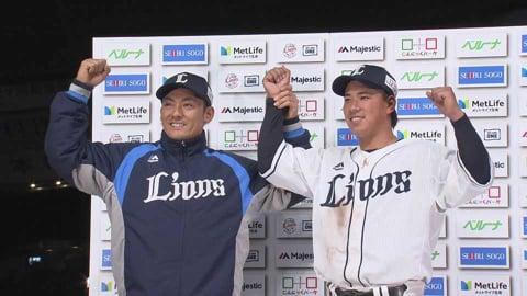 ライオンズ・愛斗選手・栗山選手ヒーローインタビュー 4/28 L-M