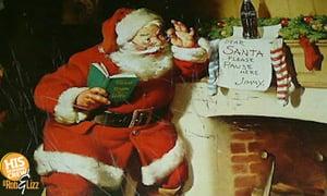 Melissa's family tree includes the Coca-Cola Santa!