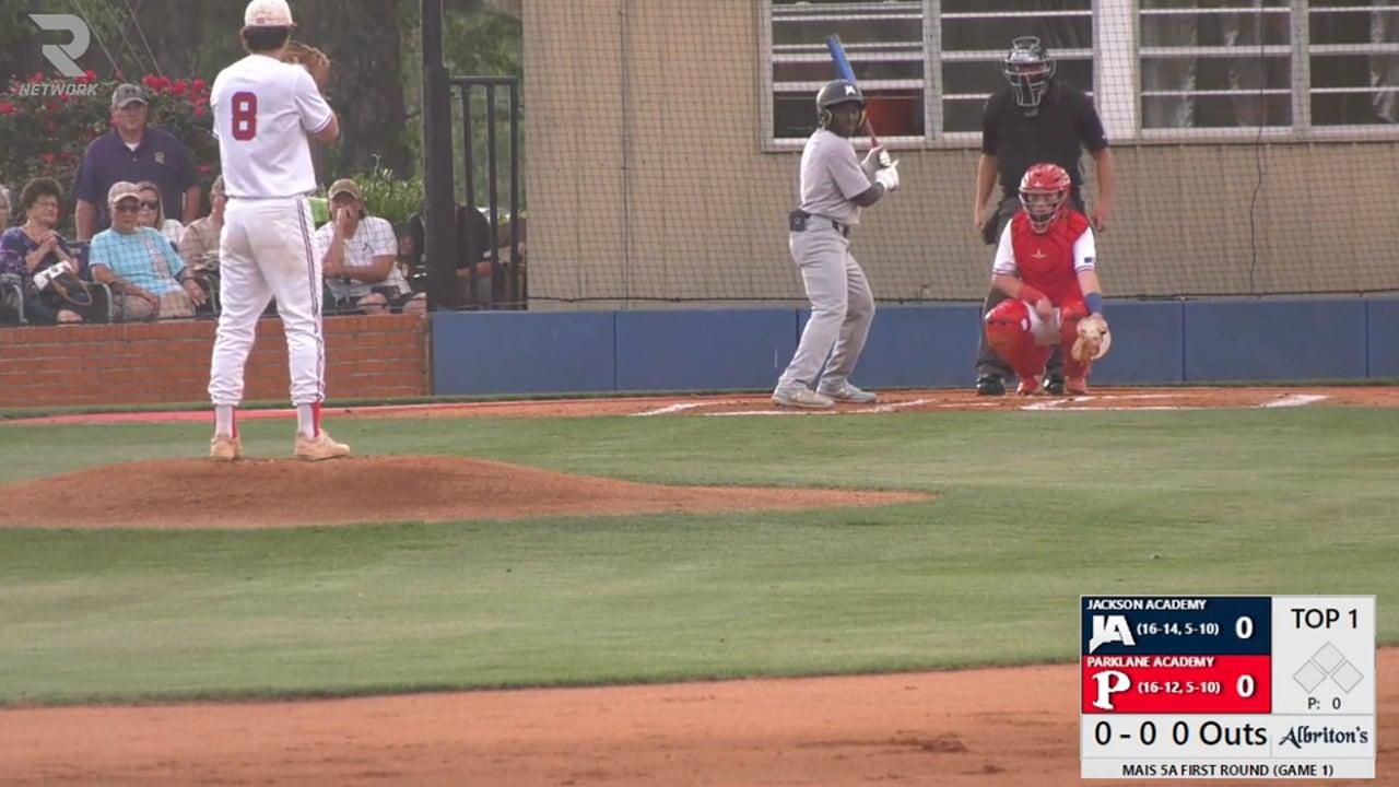 Varsity Baseball vs Parklane (5A 1st Rd GM 1- 04-27-21)