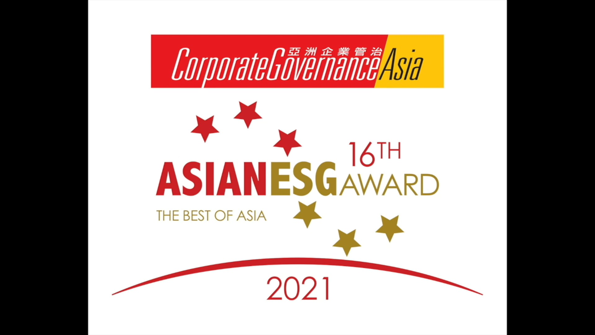 Corporate Governance Asia 16th Asian ESG Award Message 2021 - Resonating Hope for a Re-emerging Asia