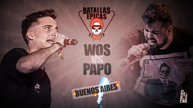 Batallas Épicas - Wos vs Papo